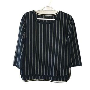 Rag & Bone Women's Black White Sweater size S